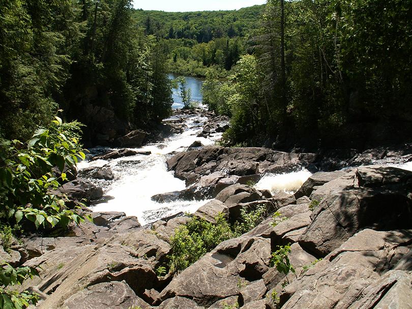 Algonquin Park Ragged Falls